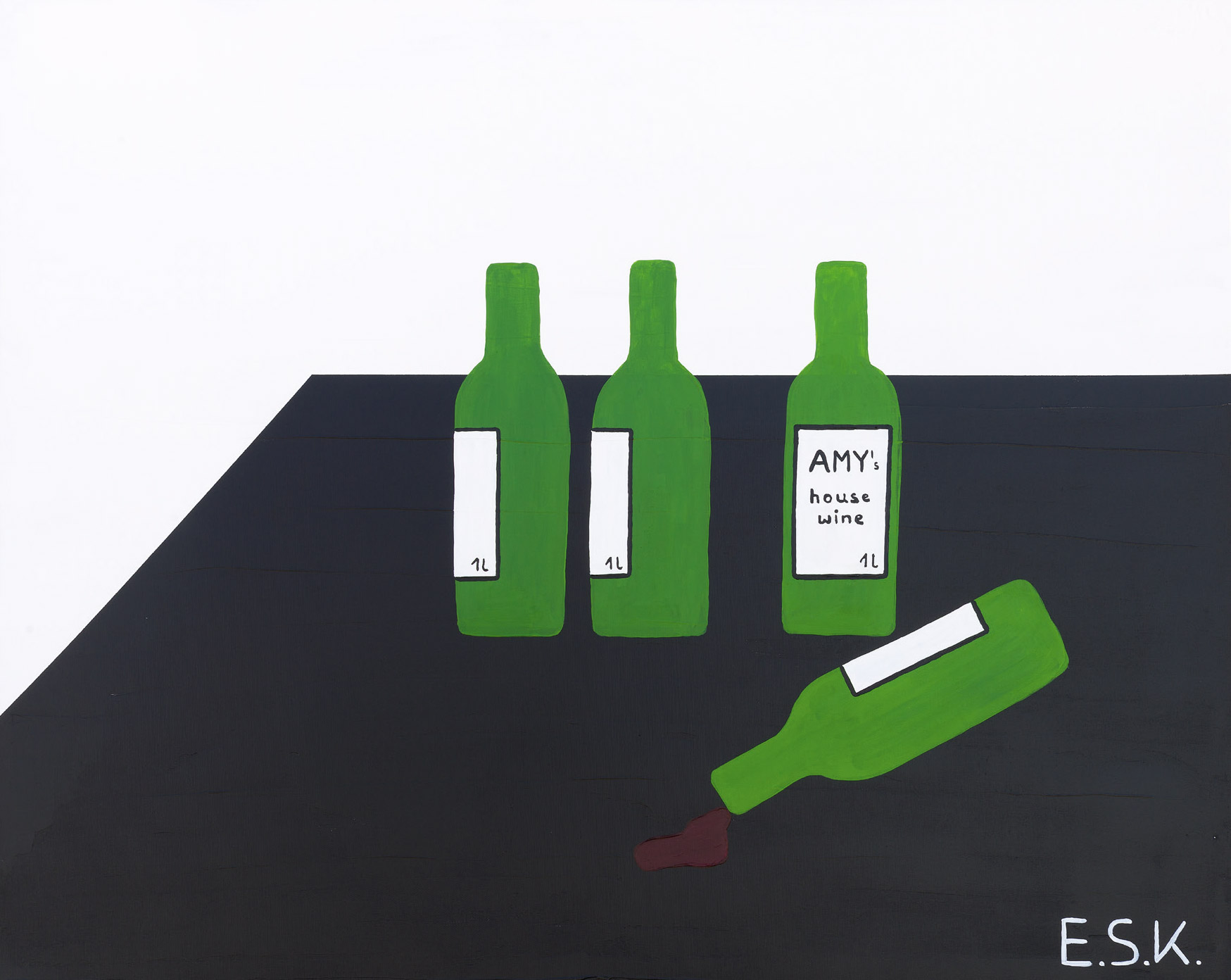 Alcohol Pop Art by E.S.K. Eileen Susanne Kreipl