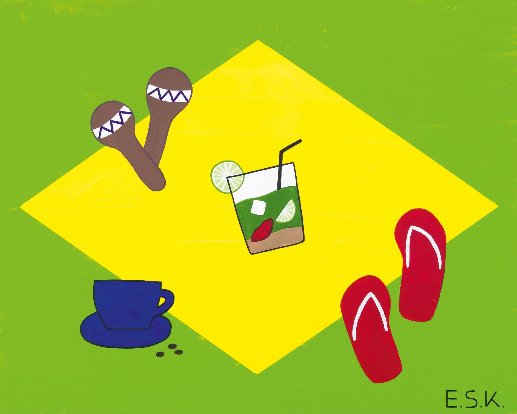 """Eileen Susanne Kreipl - """"Brasilien - Caipiranha"""""""
