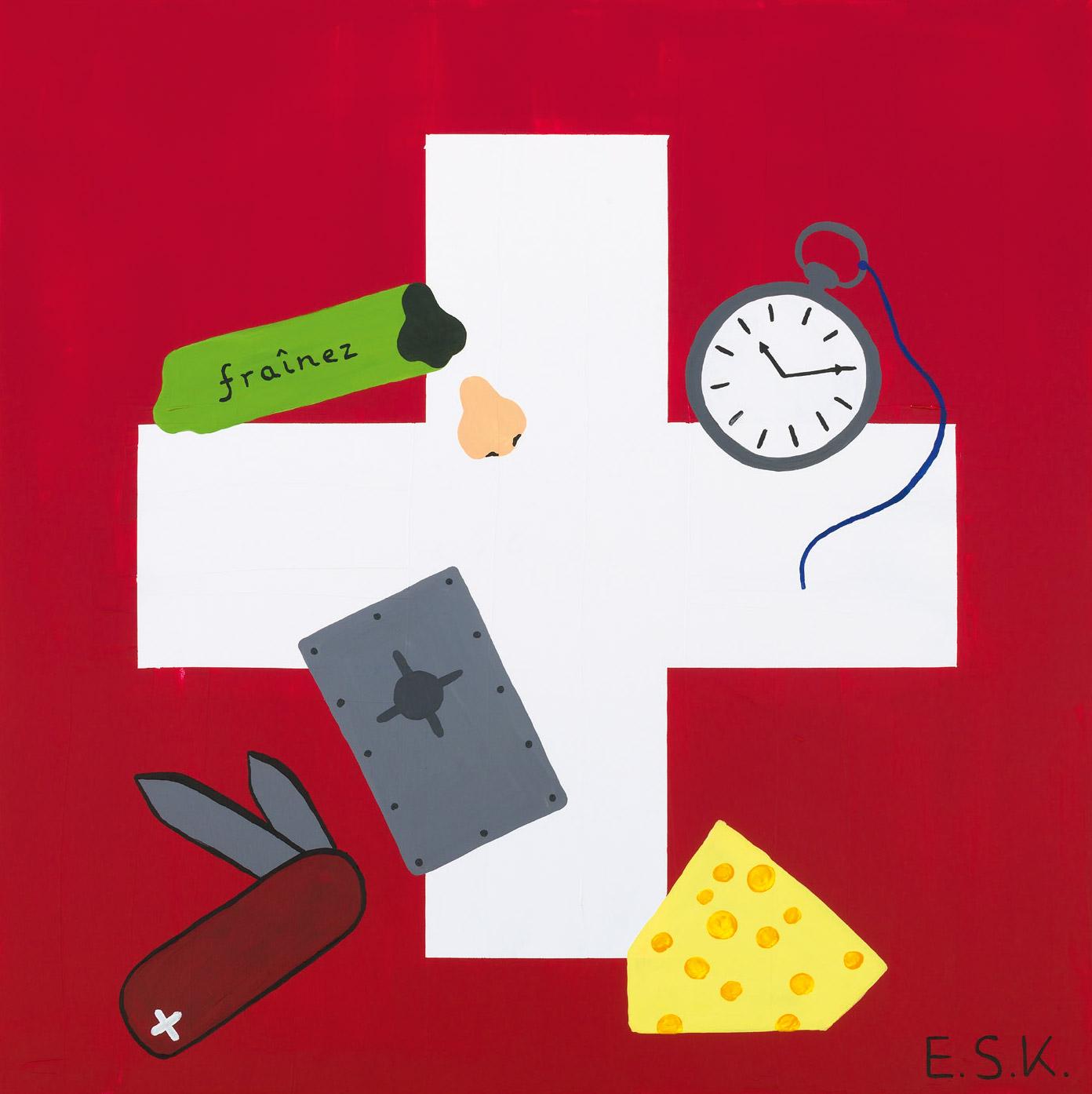 PopSchweiz - Frainez Art by E.S.K. Eileen Susanne Kreipl