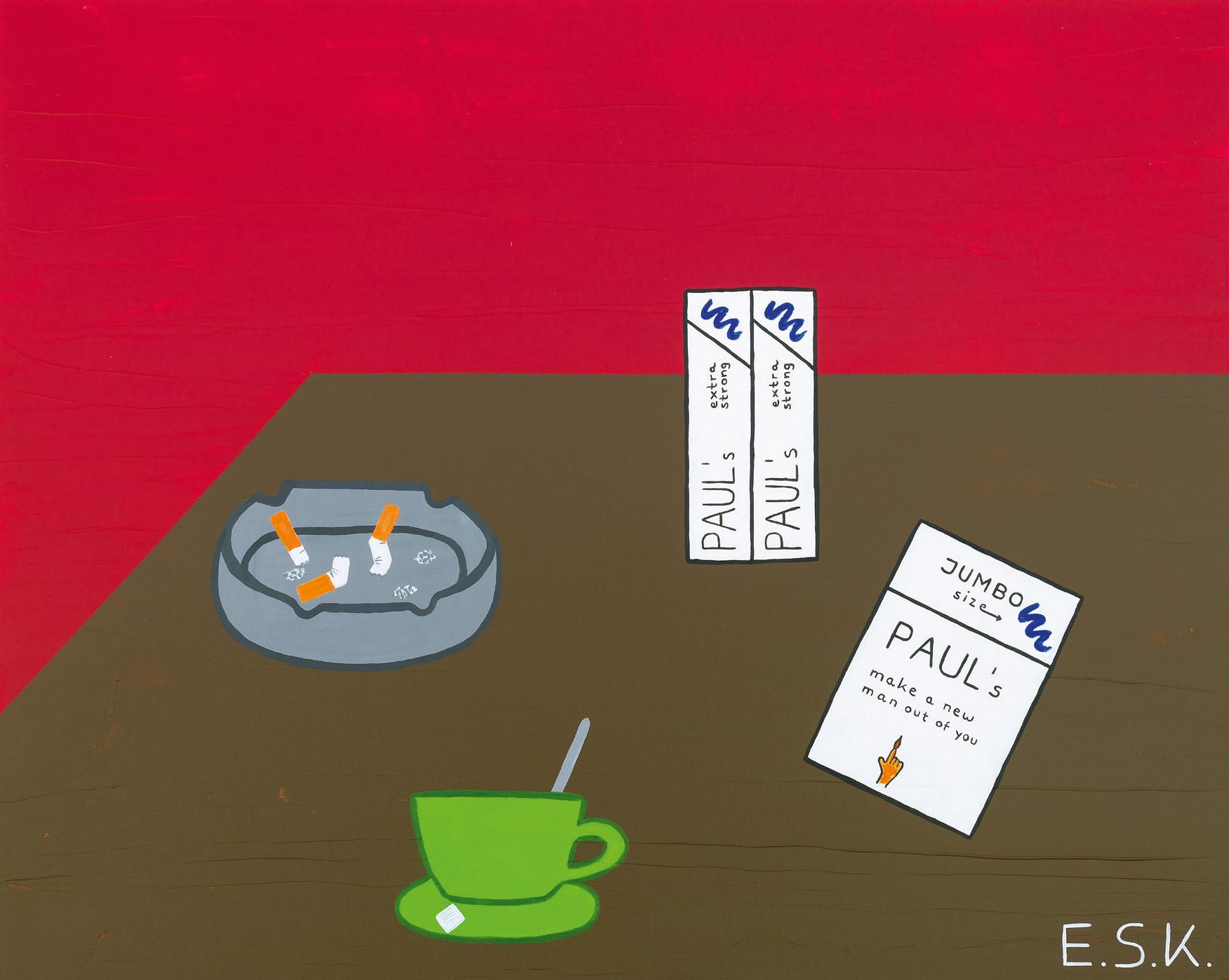 Tabacco Pop Art by E.S.K. Eileen Susanne Kreipl