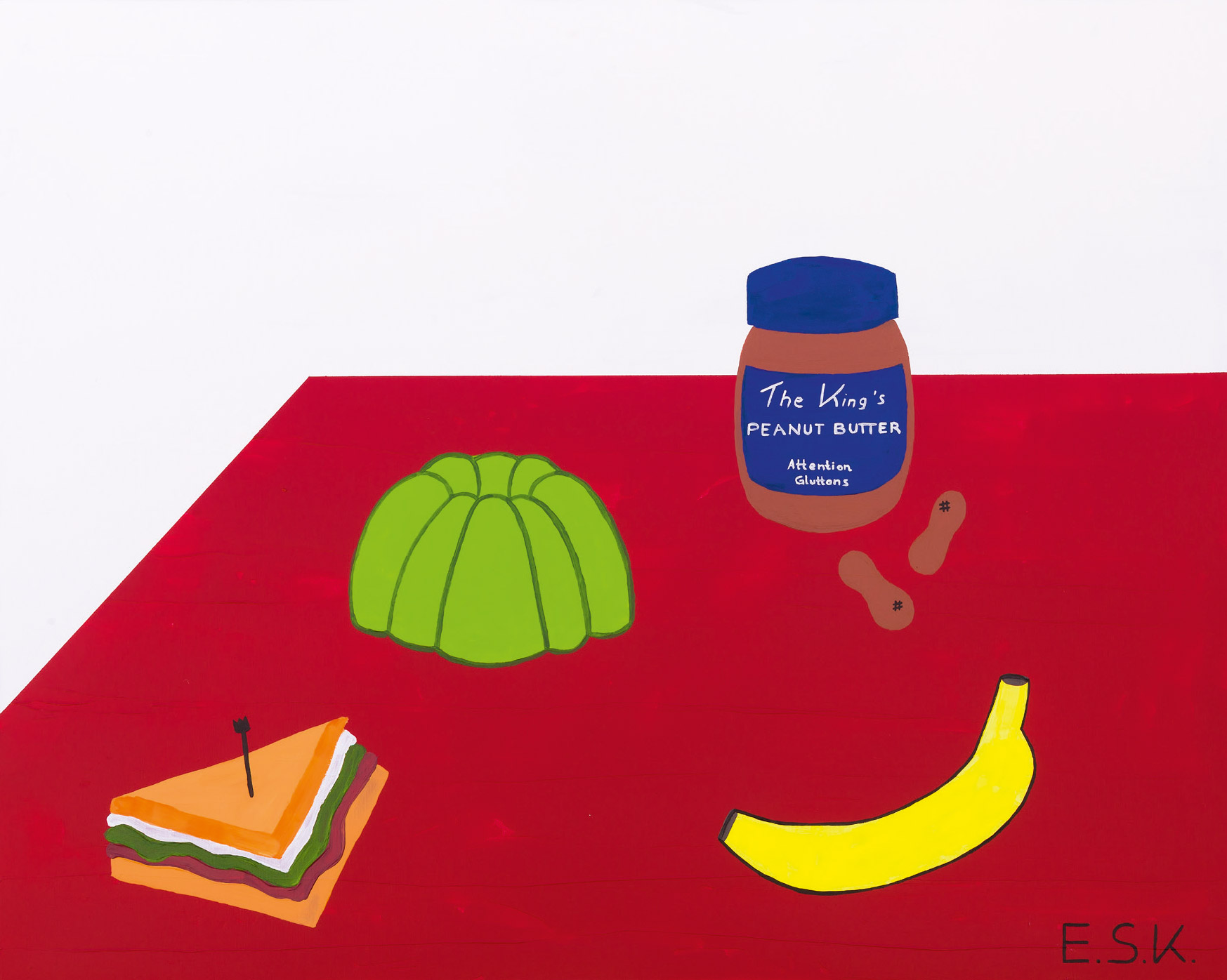 Gluttony Pop Art by E.S.K. Eileen Susanne Kreipl