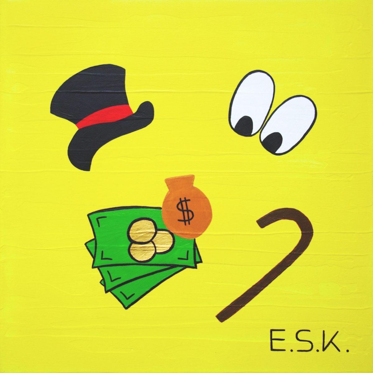 Scrooge McDuck Pop Art by E.S.K. Eileen Susanne Kreipl