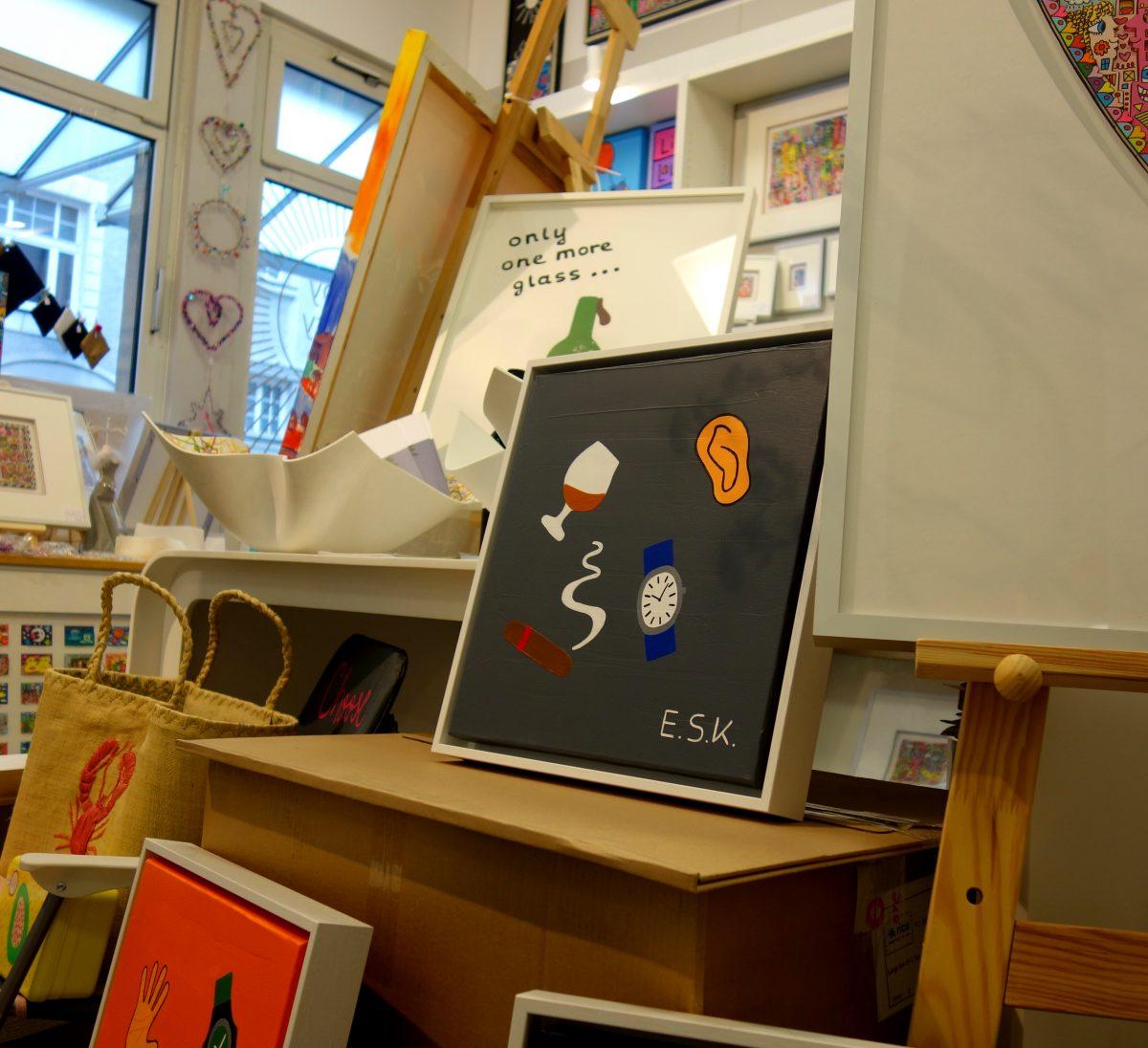Neue Werke Pop Art by E.S.K. Eileen Susanne Kreipl