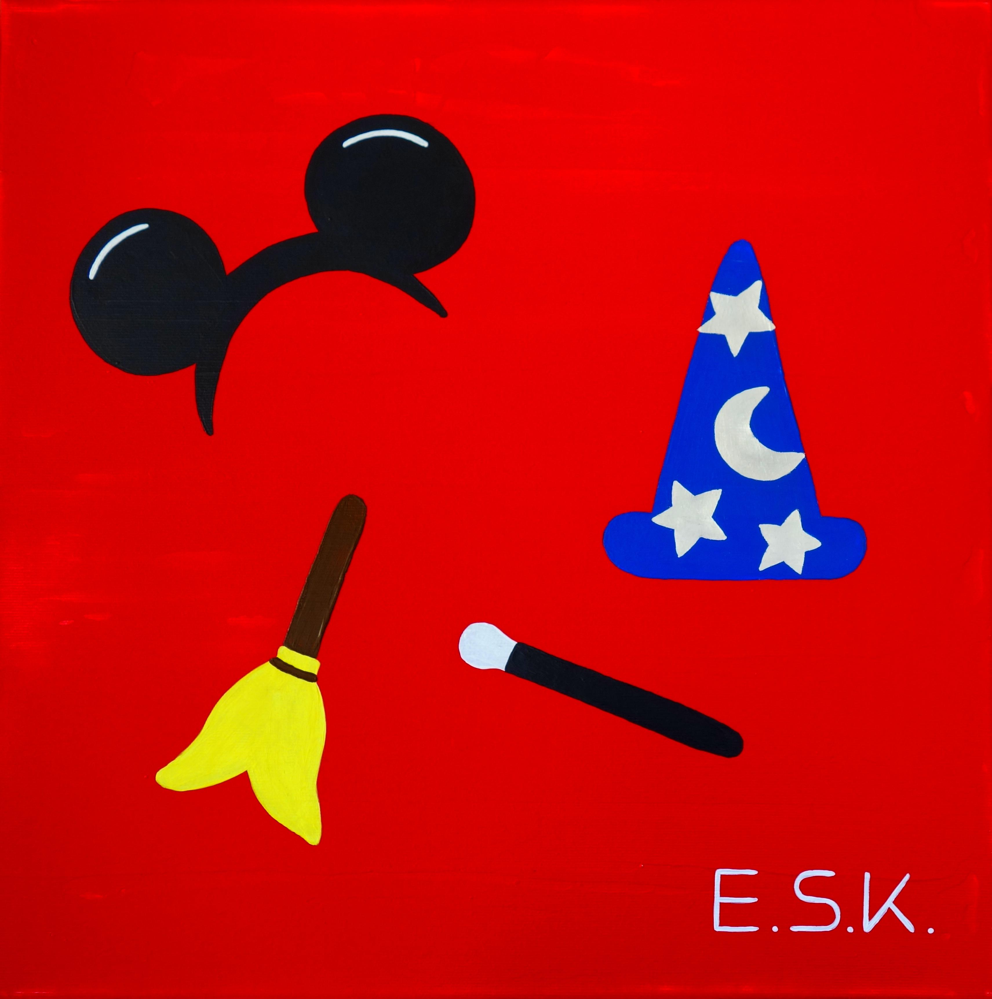 Mickey Mouse Pop Art by E.S.K. Eileen Susanne Kreipl