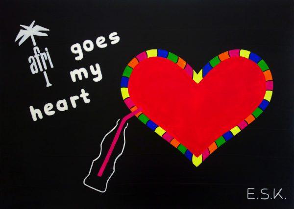 Afri Cola Pop Art by E.S.K. Eileen Susanne Kreipl